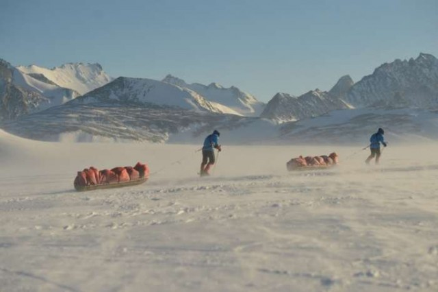 Reaching South Pole on foot 1