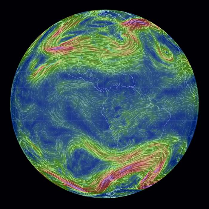 Real-time Global wind map (5)