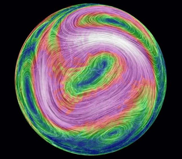Real-time Global wind map (3)