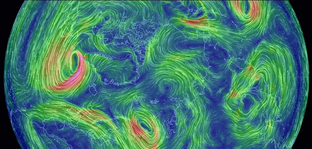 Real Time Wind Map Real time Global wind map | wordlessTech