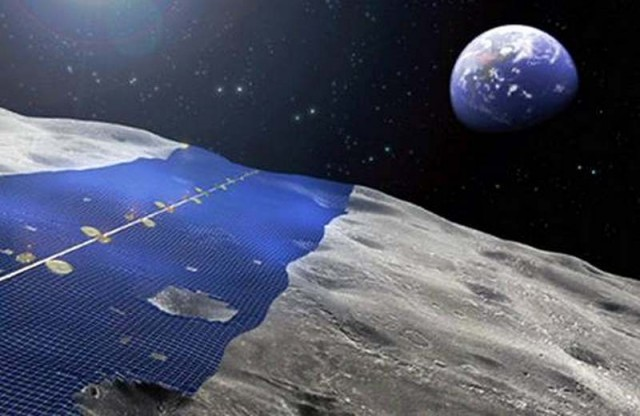 Solar Panels 250 Miles Wide Around Moon S Equator