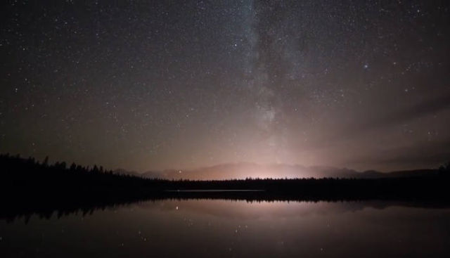 Stargazing in the Canadian Rockies
