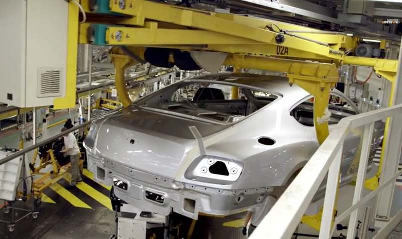The making of Bentley Mulsanne 1