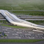 Afragola high speed train station in Naples by Zaha Had...