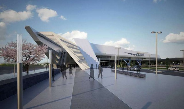 Afragola high speed train station in Naples by Zaha Hadid (7)
