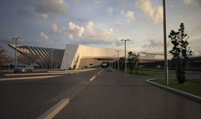 Afragola high speed train station in Naples by Zaha Hadid (6)