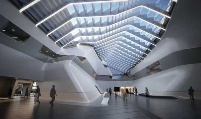 Afragola high speed train station in Naples by Zaha Hadid (4)
