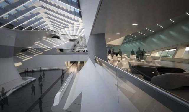 Afragola high speed train station in Naples by Zaha Hadid (3)