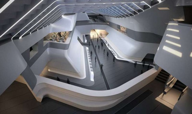 Afragola high speed train station in Naples by Zaha Hadid (2)