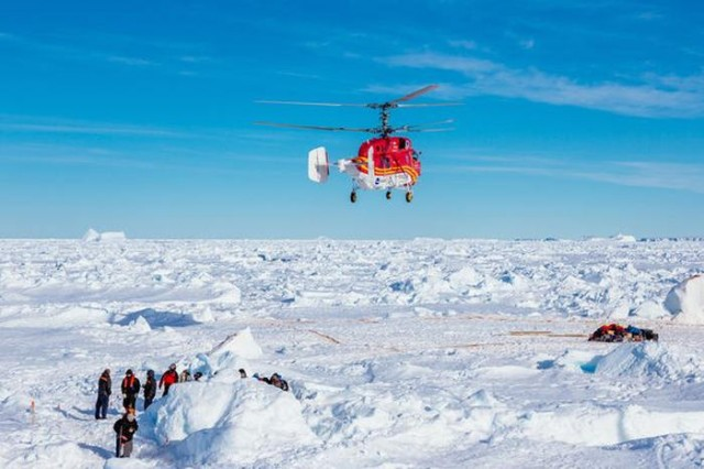 Antarctic rescue of Akademik Shokalskiy ship