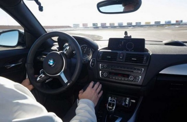BMW amazing drifting skills without a driver  3
