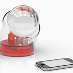 Beta.ey spherical glass Solar charger