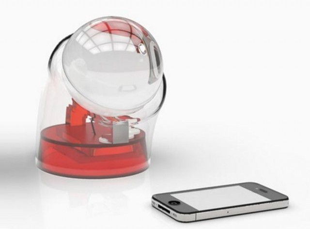 Beta.ey spherical glass Solar charger 1