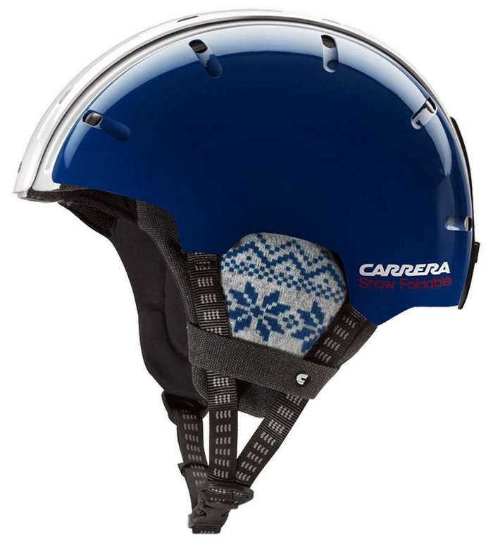 Carrera's Foldable Helmet for snow 1