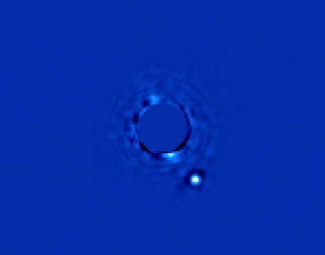 Direct image of an Exoplanet 1