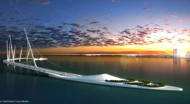 Doha Sharq Crossing Bridge by Calatrava (6)