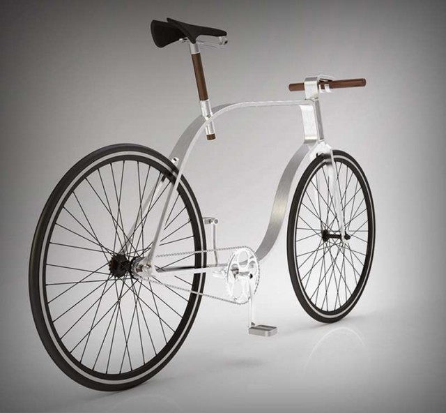 Flat Frame Bicycle  1