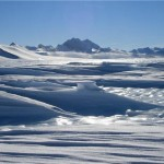 Giant Trench under Antarctic Ice
