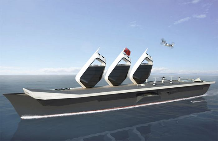 HMS Illustrious for Royal navy Aircraft Carrier concept (5)