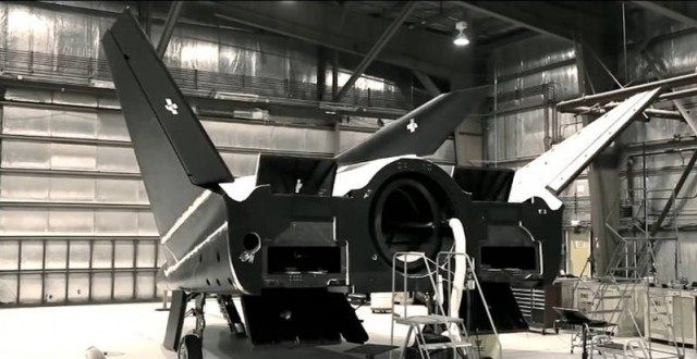 How the Dream Chaser was built