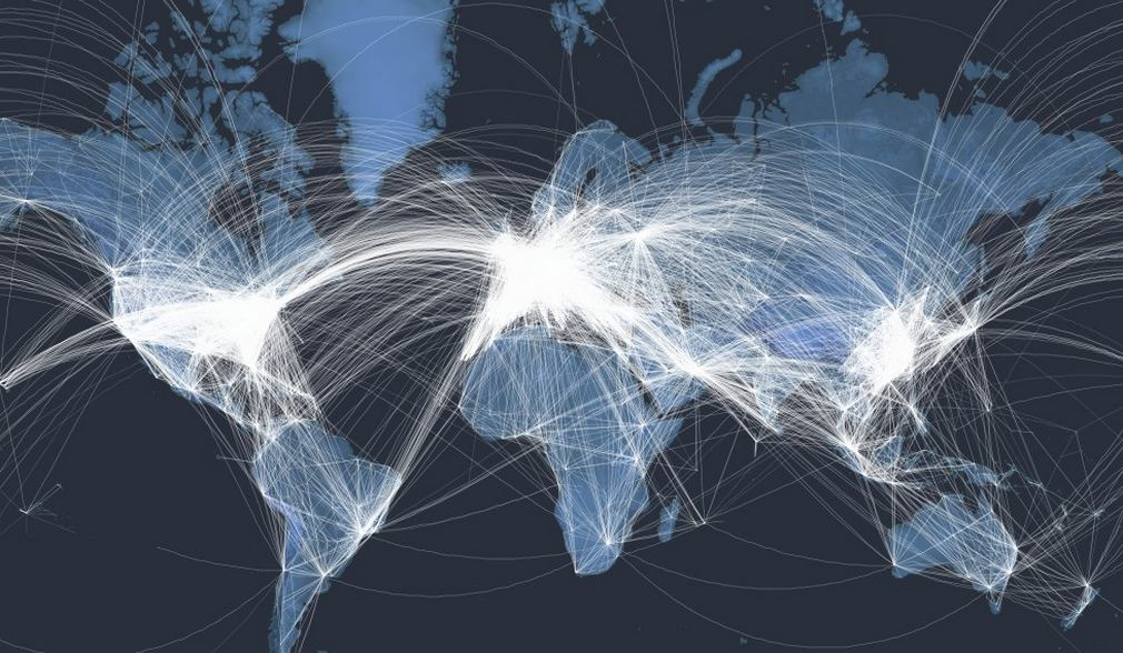 Interactive global map of all the Planes in the air 2