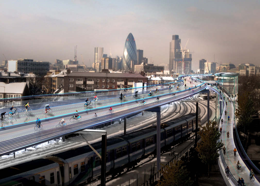 London's Bike SkyCycle Project