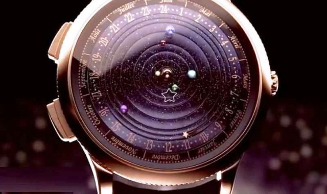 Midnight Planetarium Poetic timepiece 1