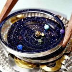 Midnight Planetarium Poetic timepiece