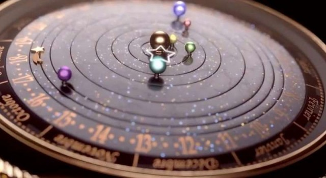Midnight Planetarium Poetic timepiece 2