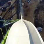 New video of world's tallest waterslide