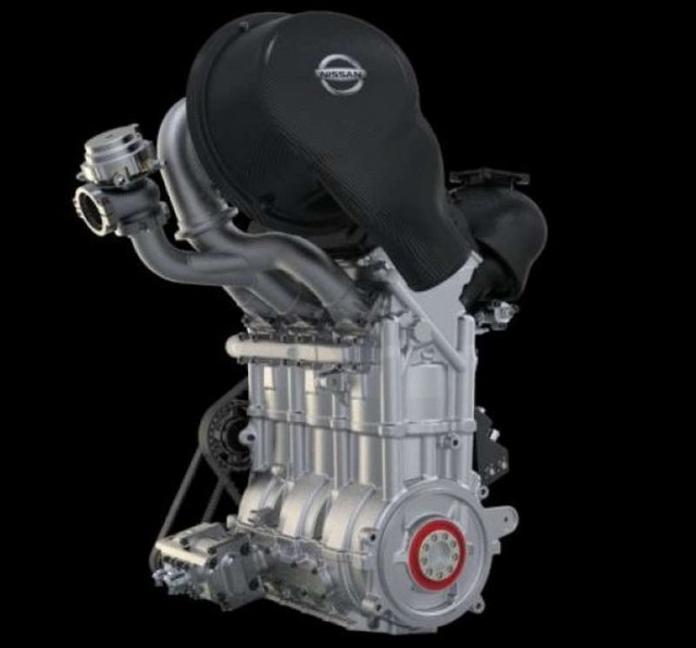 Nissan's Engine small enough to Carry (5)