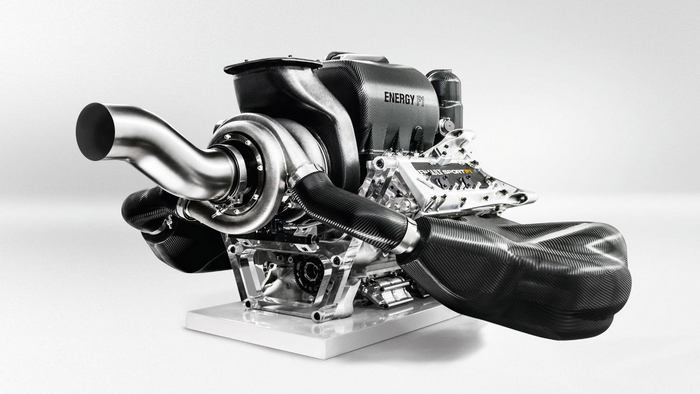 Renault state of the art Formula one Engine (8)