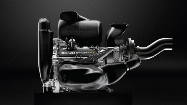 Renault state of the art Formula one Engine (7)