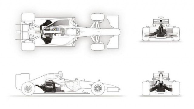 Renault state of the art Formula one Engine (2)
