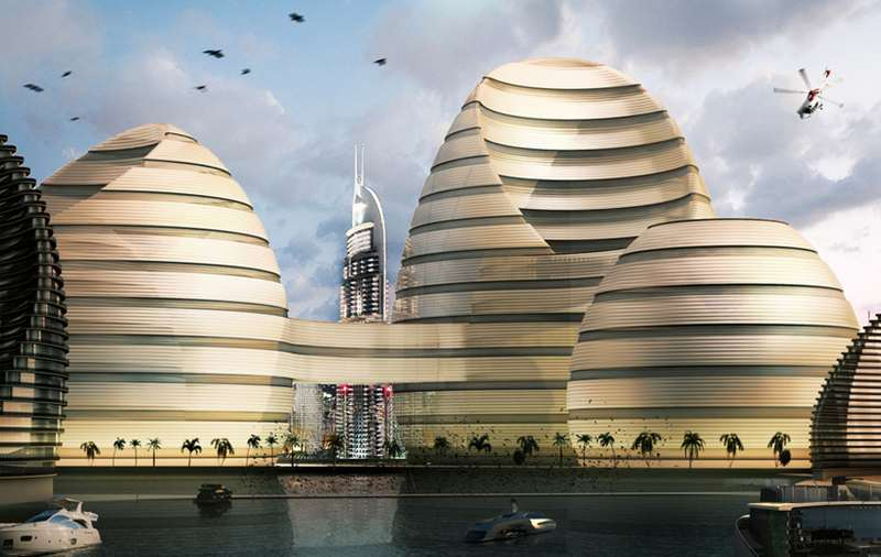 Revolutionary Organic Cities project in the UAE (9)