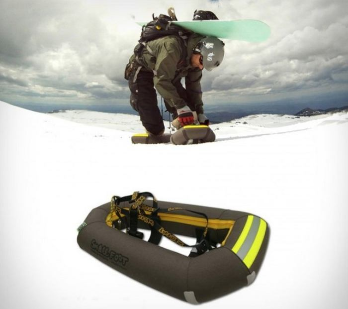 Small Foot Inflatable snowshoes 1