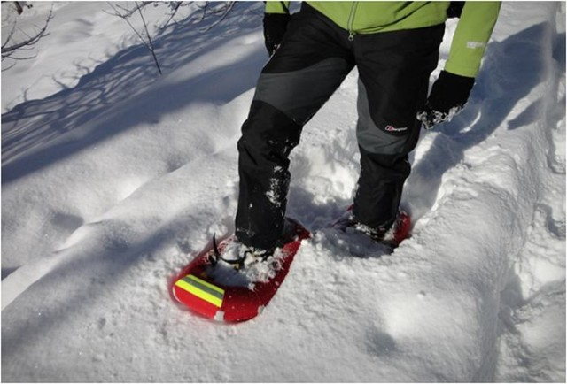 Small Foot Inflatable snowshoes 2