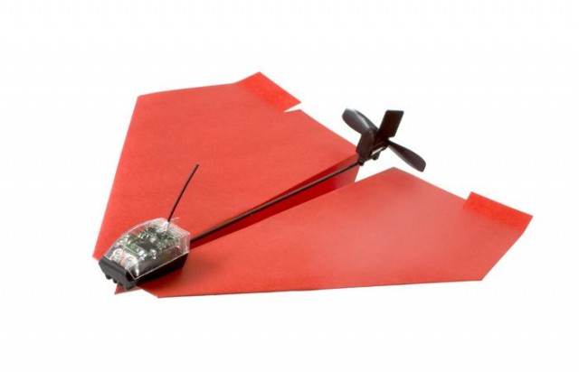 Smartphone Controlled Paper Airplane 1