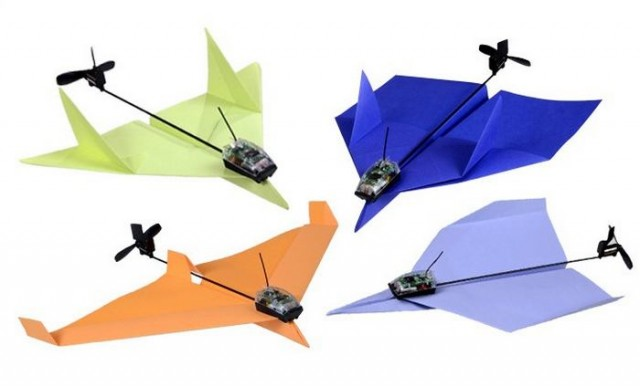 Smartphone Controlled Paper Airplane (6)