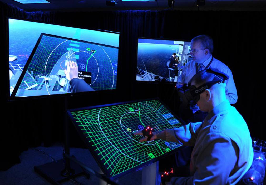 The Navy is testing an Oculus Rift