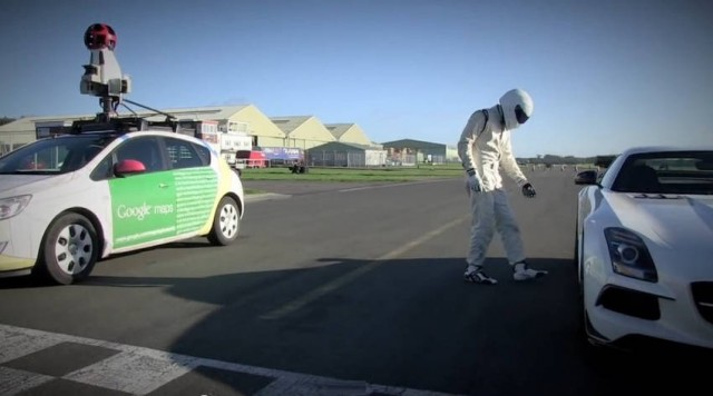Top Gear Test Track on Google Street View