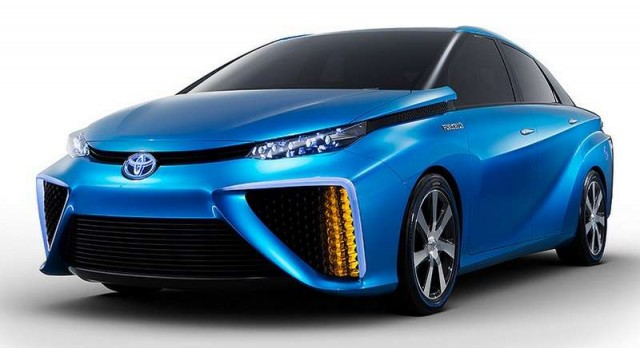 Toyota Fuel Cell concept  (1)