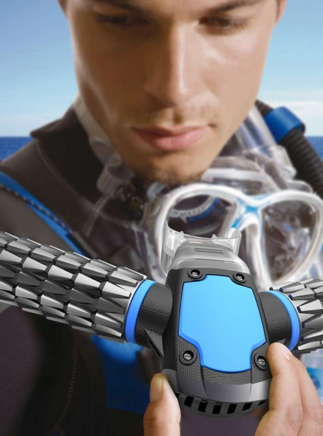 Triton small Oxygen Mask for Diving 1
