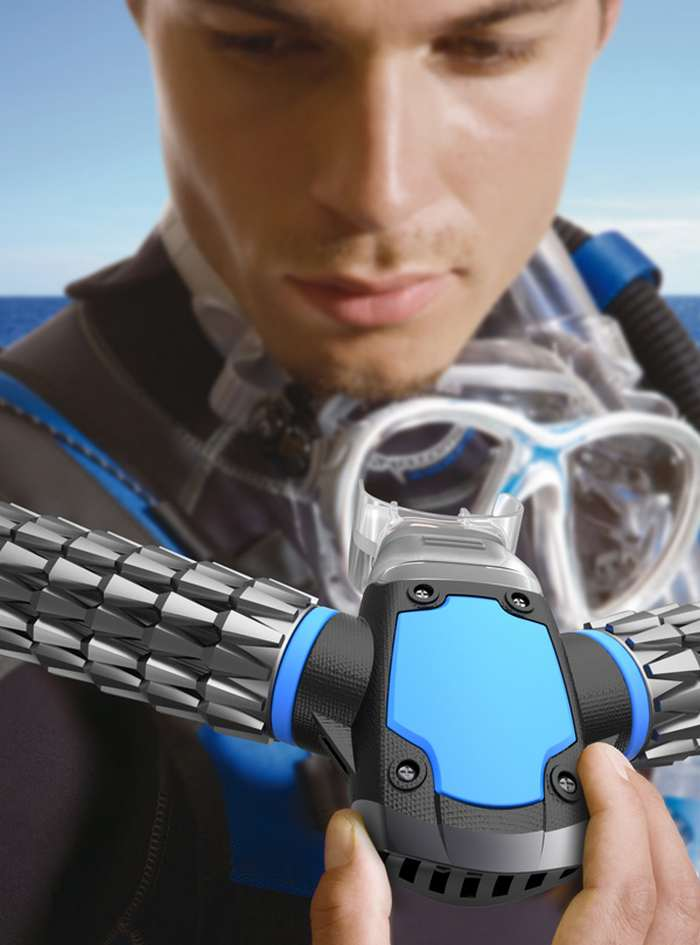 Triton small Oxygen Mask for Diving (7)
