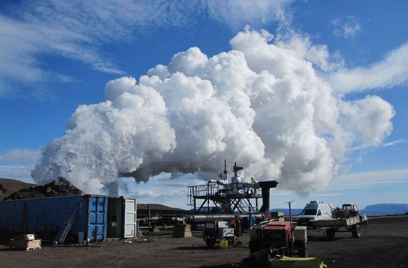 World's first magma-powered geothermal plant