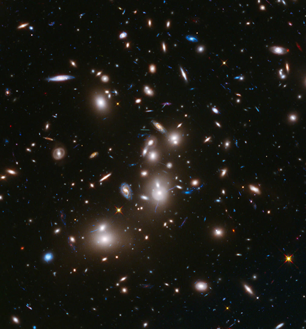 Youngest Galaxies ever detected in space