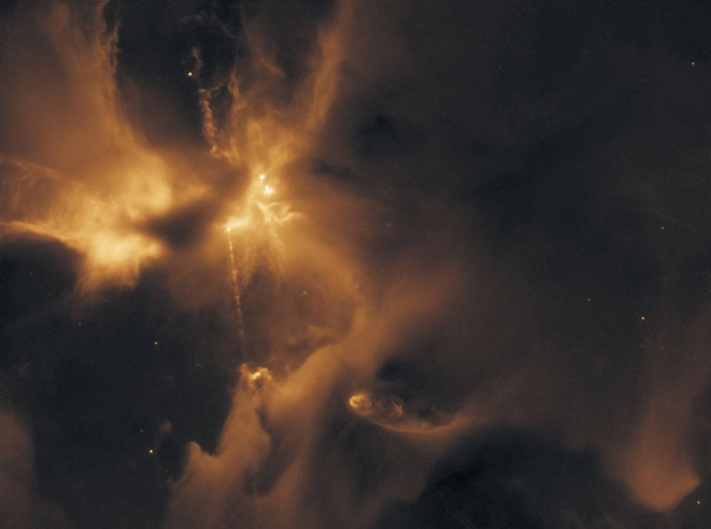 Powerful Particle Beam Jet forms HH 24