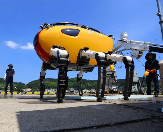 Crabster CR200- Underwater Walking Robot 1