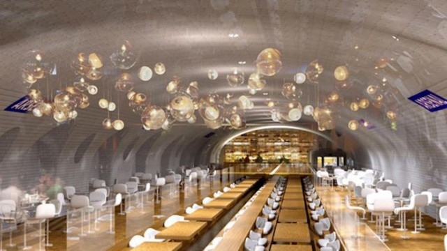 Plan for the Abandoned Subway Stations in Paris (3)
