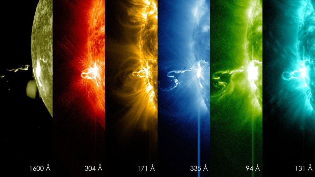 First moments of a Solar Flare